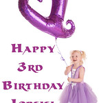 Happy 3rd Birthday Lorelei!! - It is so amazing that it has been 3 years alredy.